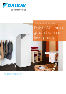 Daikin Altherma ground source heat pump_B2B_ECPEN15-728_Product Catalogues_English
