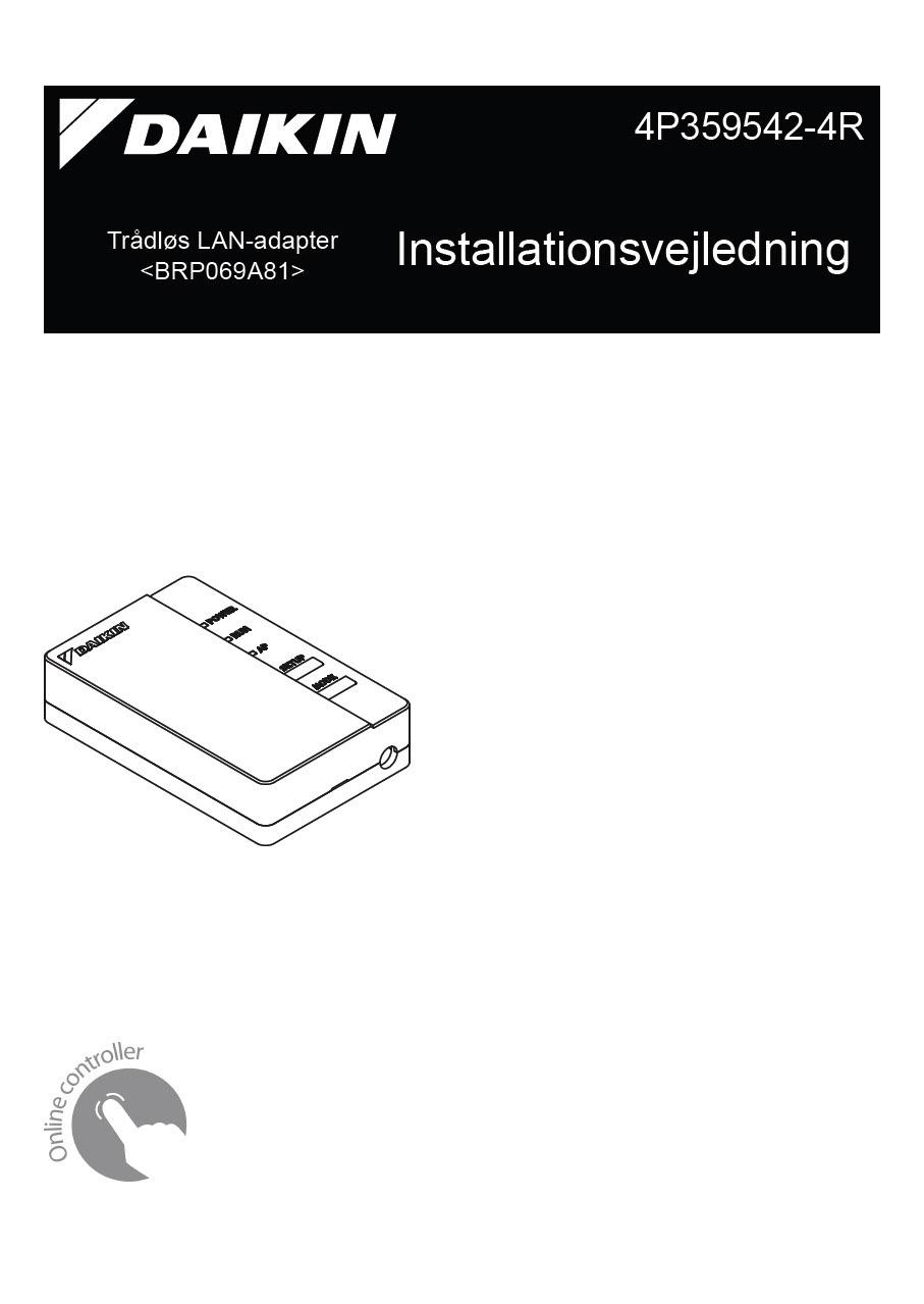Daikin online Controller manual