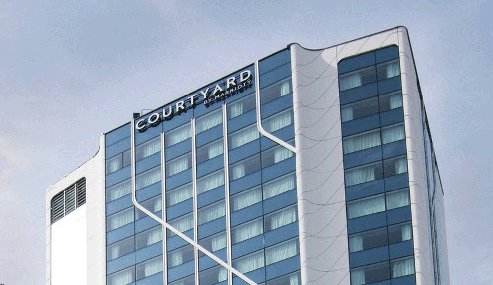 Daikin courtyard hotel paris