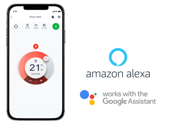 Amazon alexa - Works with the google assistant
